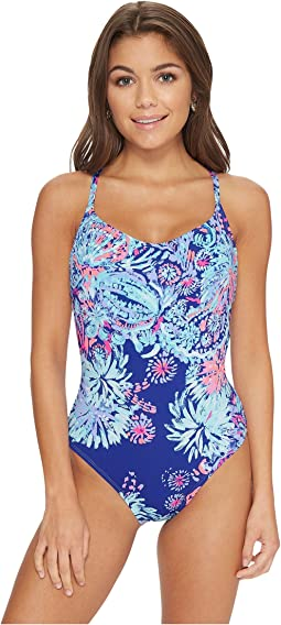 Lilly Pulitzer Azalea One-Piece Swimsuit