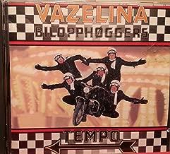 Vazelina Bilopphøggers TEMPO -songs- Stusslige Karer; Hjelp MegRagna; Raufosse Rute Ruth; Det Er Over; :Hu Sag Meg Nakjin (1989 Norwegian MUSIC CD)