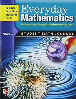 Everyday Mathematics, Grade 5: Student Math Journal, Common Core State Standards Edition, Vol. 1