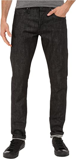The Unbranded Brand Tight Jeans in Black Selvedge