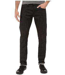 Tight Jeans in Black Selvedge
