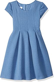 Girls' Fit and Flare Fashion Dress