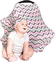 Cool Beans Baby Car Seat Canopy and Breastfeeding Nursing Cover – Multiuse –..