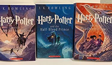 Harry Potter Books #5-7: Order of the Phoenix, Half-Blood Prince & Deathly Hallows