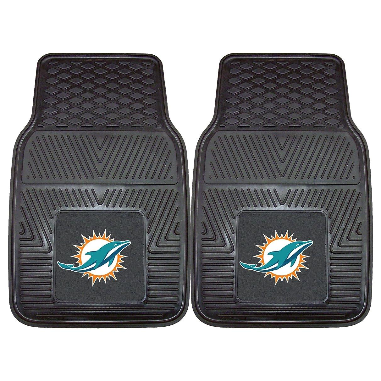 FANMATS NFL Miami Dolphins Vinyl Heavy Duty Car Mat