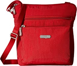 Pocket Crossbody Bag with RFID Wristlet