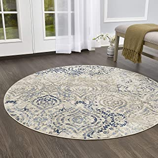 Home Dynamix Melrose Audrey Round Area Rug, 5'2