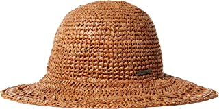 Women's Tulum Straight Brim Boater Hat, Natural, One Size