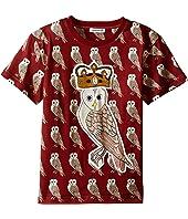 Dolce & Gabbana Kids - Owl King T-Shirt (Toddler/Little Kids)