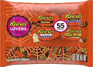 REESE'S LOVERS Snack Size Candy Assortment, 55 Pieces