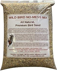 Pendelton Turf Supply Wild Bird, No-Mess Mix   All-Natural, Premium Bird Seed (9 lbs Resealable Bag)