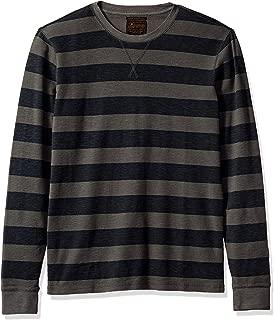 Lucky Brand Men's Long Sleeve Stripe Thermal Shirt