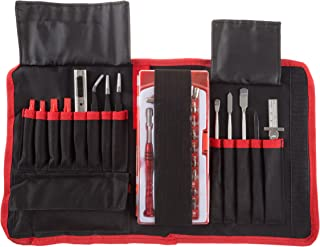 Electronic Repair Tech Tool Kit- 70 Piece Set with Precision Screwdriver, Bits, Tweezers and More For Repairing Cell Phone/Tablet/Laptop By Stalwart