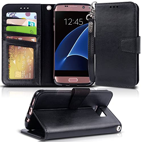 los angeles dddab 91699 Top Rated S7 Edge Leather Phone Cases: Amazon.com