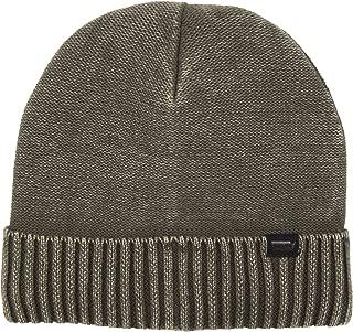 waffle knit cotton hat
