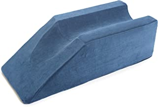 Milliard Foam Leg Elevator Cushion with Washable Cover;  Support and Elevation Pillow for Surgery, Injury, or Rest