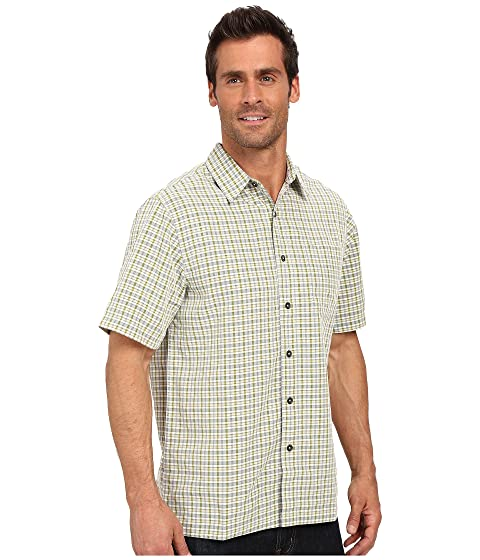 Robbins Desert Sleeve Royal Short Pucker Shirt Plaid FqfPw0d