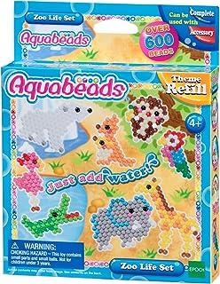 Aquabeads - La Recharge Animaux du Zoo - 31078 - Recharge Thématique - Loisirs Créatifs