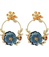 Kate Spade New York - Flower Child Door Knocker Earrings