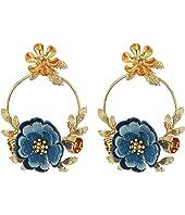 Kate Spade New York - Flower Child Door Knocker Earrings