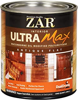 ZAR 36412 Antique Flat Ultra Max Oil Modified Polyurethane