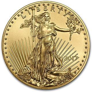 2017 1 oz Gold American Eagle Coin BU 1 OZ Brilliant Uncirculated