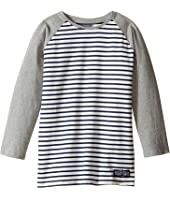 Toobydoo - Navy Stripe Baseball Tee (Infant/Toddler/Little Kids/Big Kids)