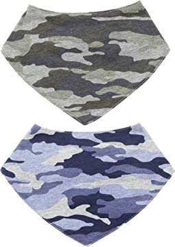 Handkerchief Dribble Bibs Set of 2
