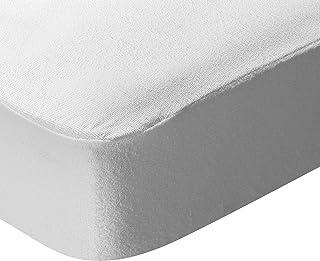 Pikolin Home - Protector de colchón de rizo, antialérgico (antiácaros, bacterias y moho), impermeable, 150x200cm-Cama 150cm (Todas las medidas)