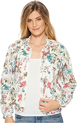 In Bloom Zip-Up Jacket
