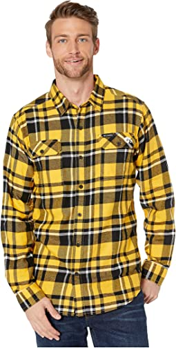 MLB Gold Plaid