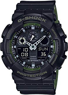 Casio GA-100L-1A G-Shock GA-100 Military Series Watch...