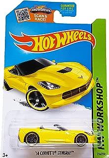 Hot Wheels, 2015 HW Workshop, '14 Corvette Stingray Convertible [Yellow] 216/250