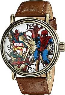 Men's Spider-Man Analog-Quartz Watch