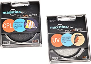 Maxsimafoto FZ1000EB filtro CPL polarizzato professionale da 62 mm; C-PL per fotocamera bridge Panasonic DMC-FZ1000 Lumix FZ1000.