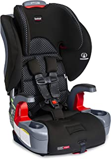 Britax Grow with You ClickTight Harness-2-Booster Car Seat | 2 Layer Impact Protection - 25 to 120 Pounds + Cool Flow Ventilating Fabric, Cool Flow Gray [New Version of Frontier]