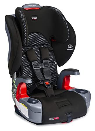 Britax Grow with You ClickTight Harness-2-Booster Car Seat, Cool Flow Gray: image