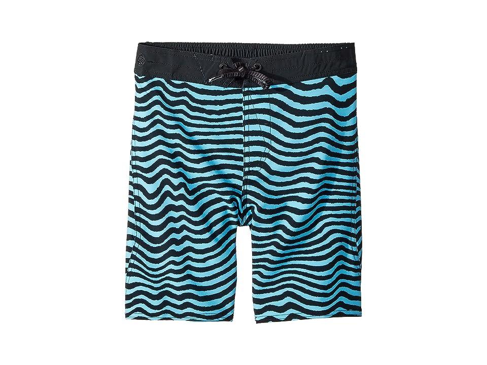 Volcom Kids Mag Vibes Elastic Boardshorts (Little Kids/Big Kids) (Blue Bird) Boy