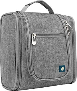 کیف آرایشی و کوله دستی پاویلیا (Pavilia)، زنانه و مردانه | کیت آرایشی و مسافرتی مناسب لوازم آرایشی بهداشتی | کیف بهداشتی و آرایشی مخصوص لوازم اصلاح  (خاکستری رنگ)