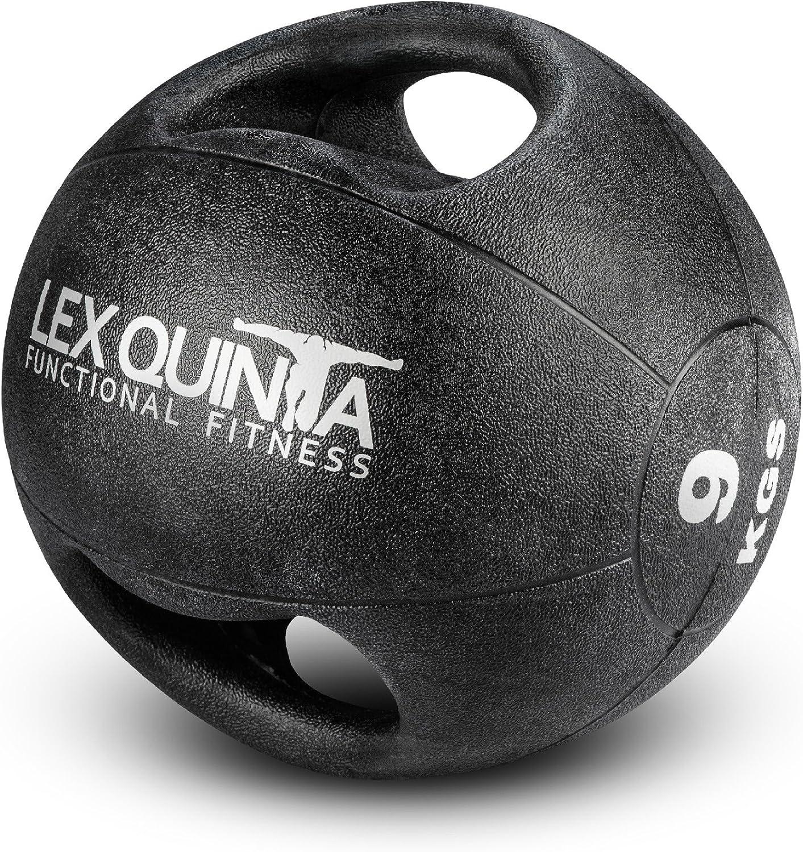 Lex Quinta Doppelgriff Medizinball - Double grip - 9kg