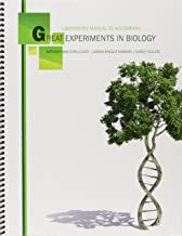 Laboratory Manual to Accompany Great Experiments in Biology