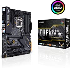 ASUS TUF Z390-Pro Gaming LGA1151 (Intel 8th and 9th Gen) ATX DDR4 HDMI M.2 USB 3.1 Gen2 Gigabit LAN Motherboard