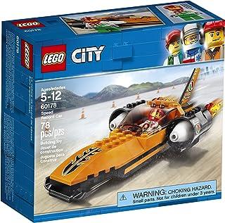 LEGO City Speed Record Car 60178 Building Kit (78 Piece)