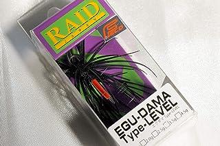 レイドジャパン (RAID JAPAN) エグダマ Type-LEVEL 2.5g #002 ブラック/ブルーフレーク