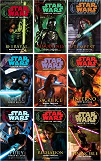 Star Wars - Legacy of the Force (Books 1-9, Betrayal, Bloodlines, Tempest, Exile, Sacrifice, Inferno, Fury, Revelation, Invincible)