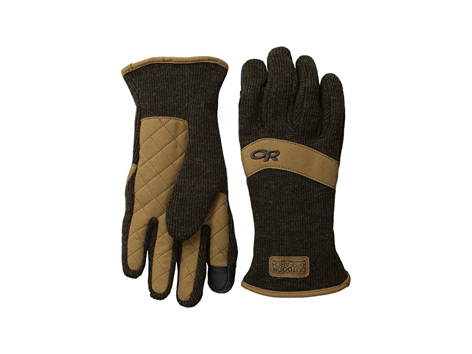 Outdoor Research Exit Sensor Gloves (Earth) Extreme Cold Weather Gloves