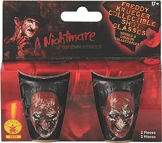 Nightmare on Elm Street Freddy Krueger Drinking Party Shot Glasses, Set of 2