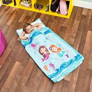 nap mat with pillow and blanket