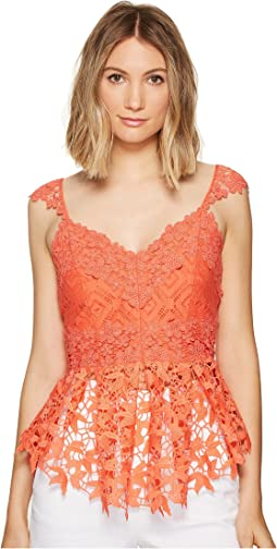 Kinsey Crochet Lace Top