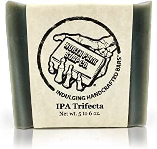 Soap by North Park Soap Co. IPA Trifecta 5.50 oz Handcrafted using Therapeutic Grade Essential Oils